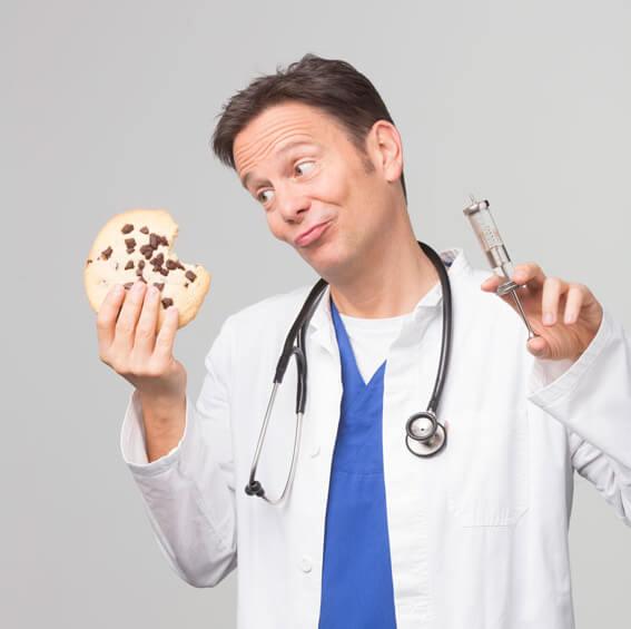 DR. CARSTEN LEKUTAT – Geschichten aus der Hausarztpraxis, oder: Wie Kekse Ihr Leben retten können!